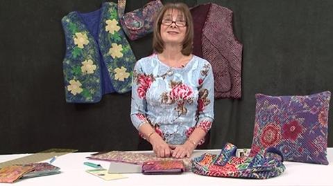 How to make Chenille Fabric with Valerie Nesbitt