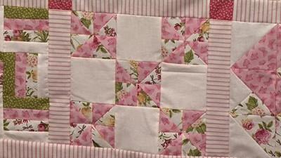 Pinwheels - Block 8 of Your First Sampler Quilt