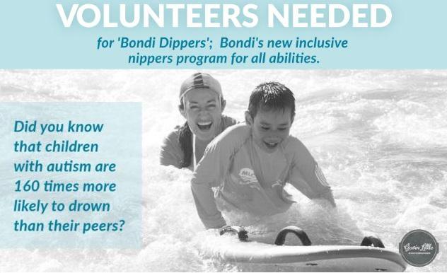 Bondi Dippers Volunteers Needed