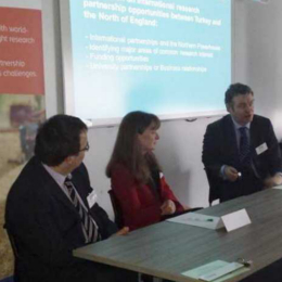 Dr Peter Simpson, Dr Nick Goldspink, Dr Gillian Sinclair
