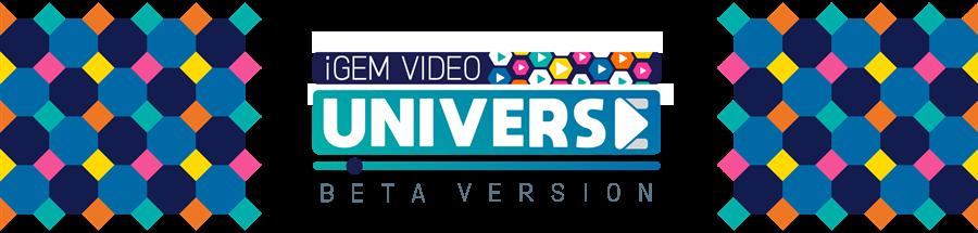 iGEM Video Universe: Beta Version banner