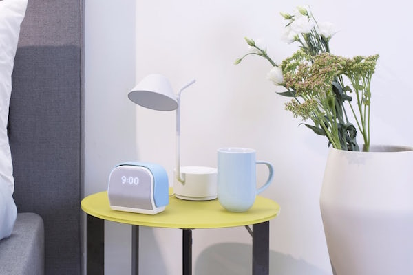 AN ALARM CLOCK DESIGNED TO IMPROVE SLEEP SO WAKING UP IS EASIER