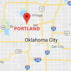 Map of N. Portland Pharmacy location