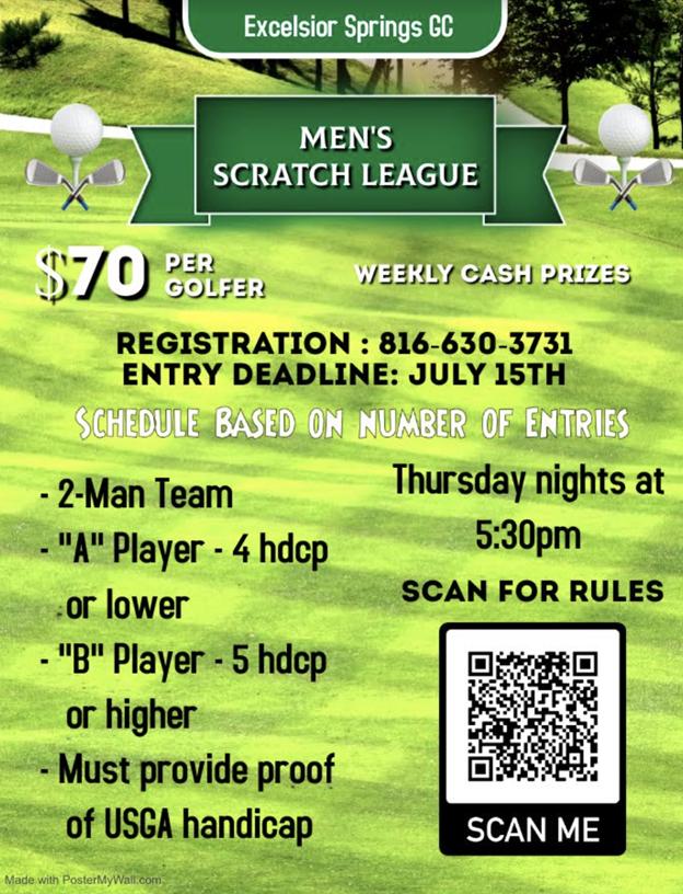 Men's Scratch League