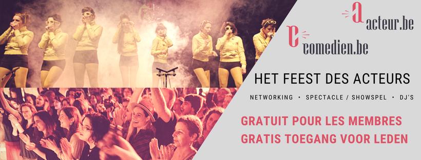 Een groot feest om de podiumkunsten & audiovisuele sector te verenigen