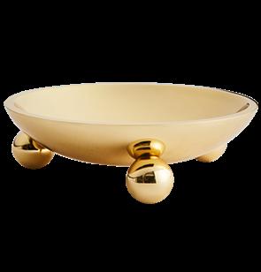 Boule Brass Bowl
