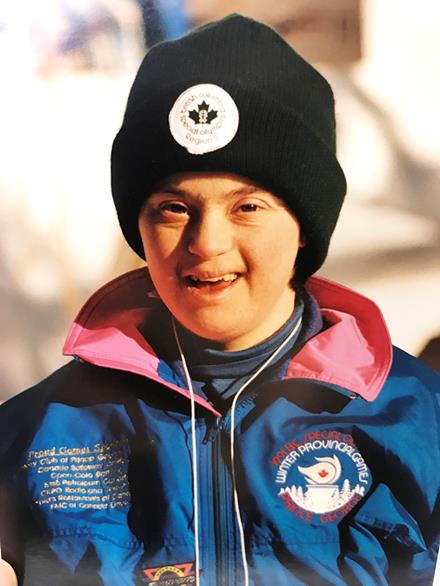 1991 SOBC Winter Games athlete