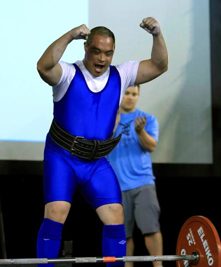 Special Olympics BC powerlifter