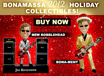 Bonamassa 2012 Holiday Collectibles. Get them now