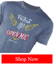 Tribut - Open Mic - Short Sleeves tee