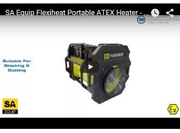 SA Equip Flexiheat Portable ATEX Heater - Zone 1 & Zone 2 Hazardous Areas