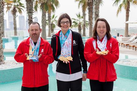 Special Olympics Team Canada's three stellar swimmers from B.C.