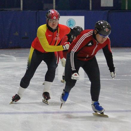 Team BC 2020 Training Squad speed skaters