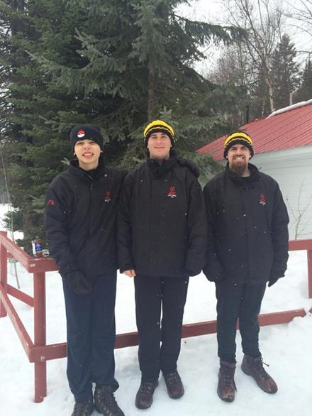 SOBC - Trail athletes at Snow Sports Festival
