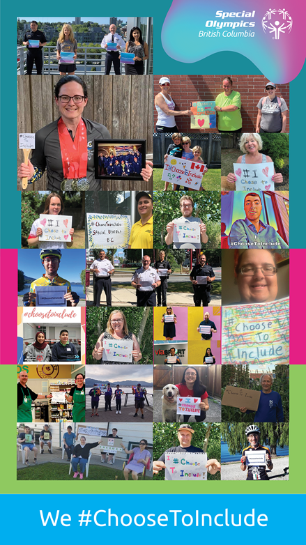 Special Olympics Global Week of Inclusion photo collage