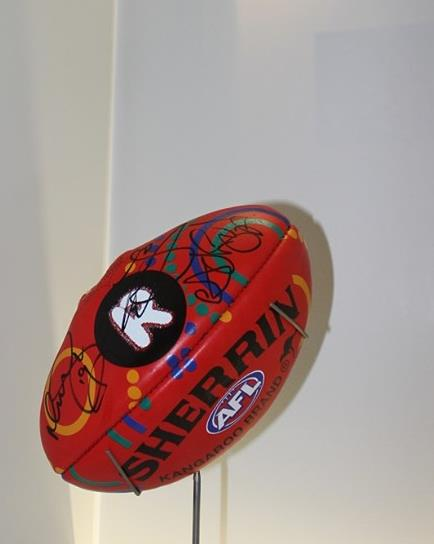 Recognise Football signed by Indigenous AFL legends