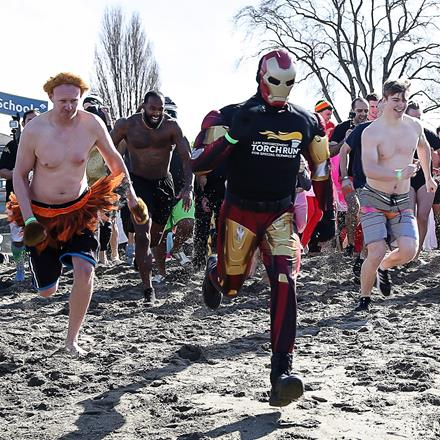 2017 Polar Plunge for SOBC participants