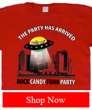 Joe Bonamassa Rock Candy Funk Party The Party Has Arrived tee