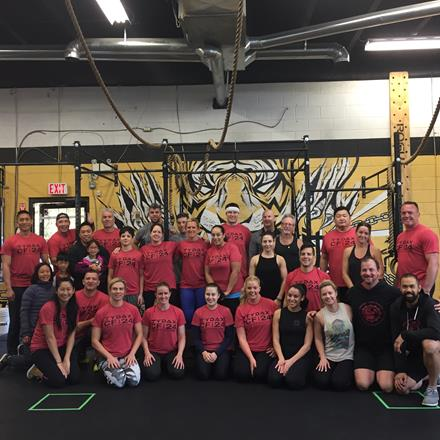 Raincity Athletics showing their strength at the 2017 CF|24 event!