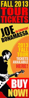 Bonamassa Always on the Road. Joe Bonamassa in concert. 2013 Fall tickets available here! Get your tickets now!