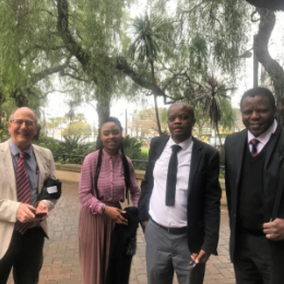 South African visit to GECA