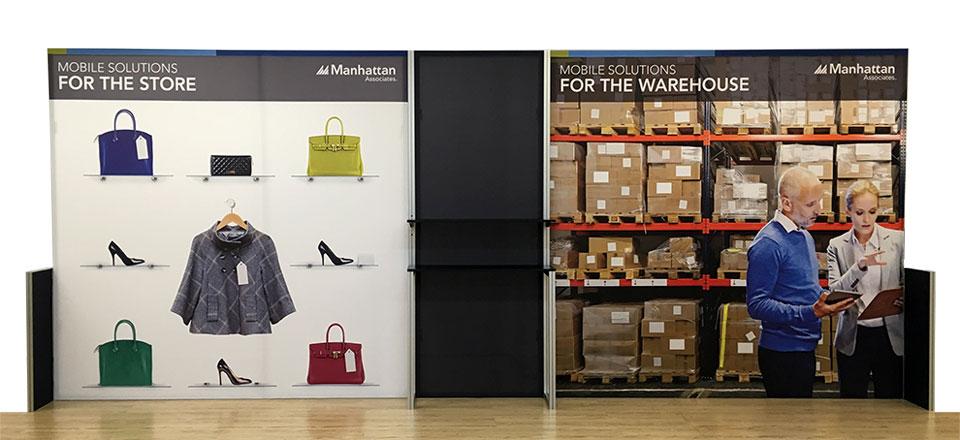 TexFrame Fabric Graphic Exhibition Displays