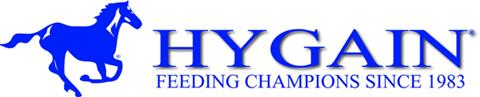 Hygain logo and weblink