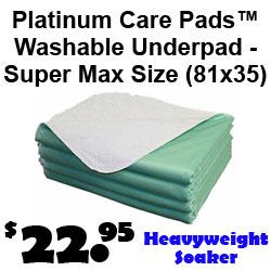 Platinum Care Pad Washable