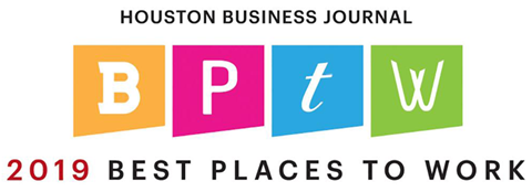 Houston Business Journal Best Places to Work 2019