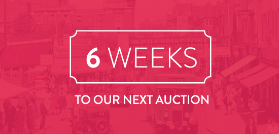 6 Weeks to our next auction