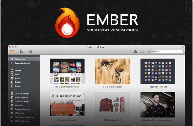 Ember — Your Digital Scrapbook