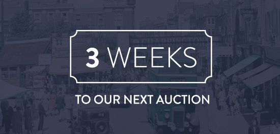 3 Weeks to our next auction